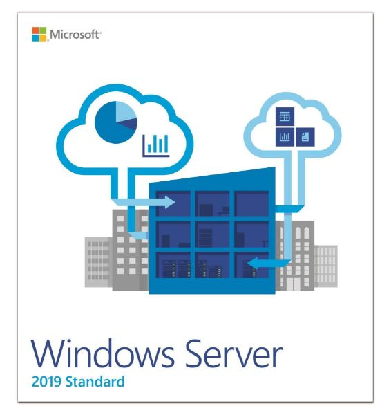 Picture of Windows Svr Std 2019 English 1pk DSP OEI 2Cr NoMedia/NoKey (APOS) AddLic