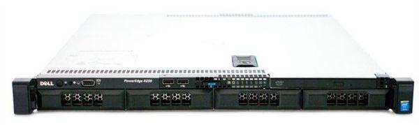 Dell Power Edge R230 E3-1220V6 3.0GHZ, 4C/4T H330, 4 HP, DVD,250w