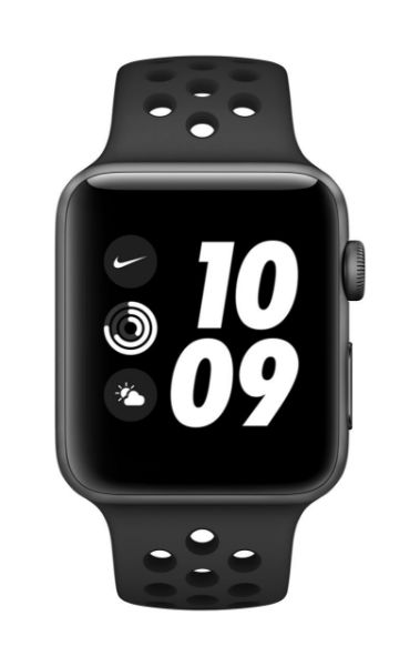 Picture of Apple Watch Nike Series 3 GPS, 42mm Space Grey Aluminium Case with Anthracite/Black Nike Sport Band