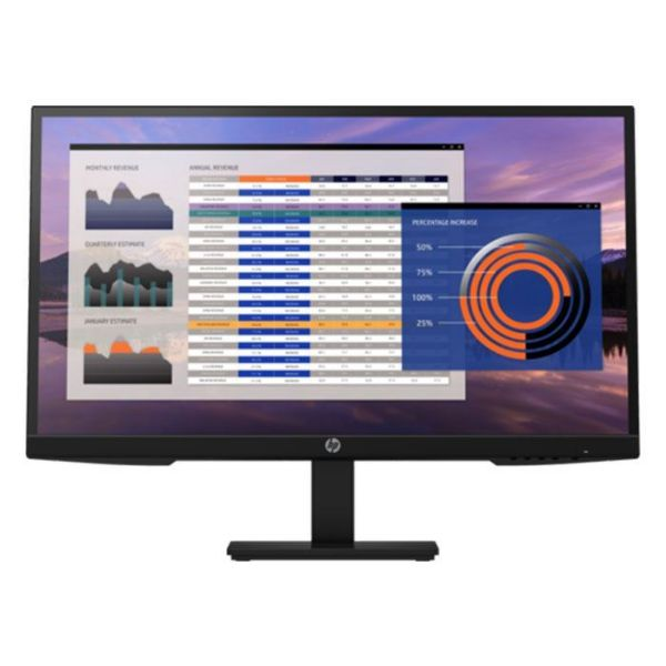 """Picture of HP MONITOR  27"""" IPS P27H VGA/DP/HDMI VESA PIVOT SPEAKERS + 1920x1080 16:9 3yw  -  7VH95AS#ABT"""