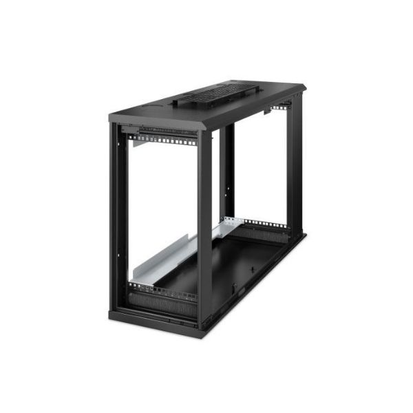Picture of APC NetShelter 6U Low-Profile Wallmount Rack Enclosure Cabinet 230V Server Depth