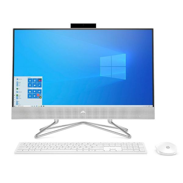"""Picture of HPAIO 23.8"""" FHD/i3-10100T/8GB/512GB NVMe/Win 10 HOME/White/1YW"""