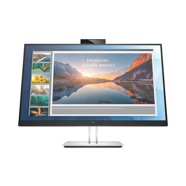 "Picture of HP Monitor ElitDisplay  23.8"" E24d G4 IPS FHD 16:9 PIVOT DP/HDMI/ USB C RJ45 +CAMERA Docking 3YW"