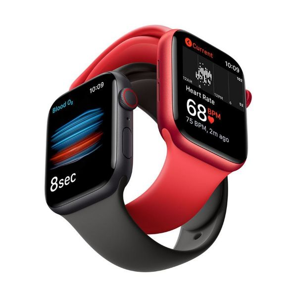 Picture of 44mm Apple Watch Series 6 GPS + Cellular, Aluminium Case with Sport Band - Regular