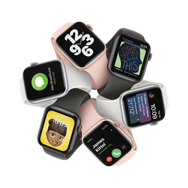 Picture of 40mm Apple Watch SE GPS + Cellular, Aluminium Case with Sport Band - Regular