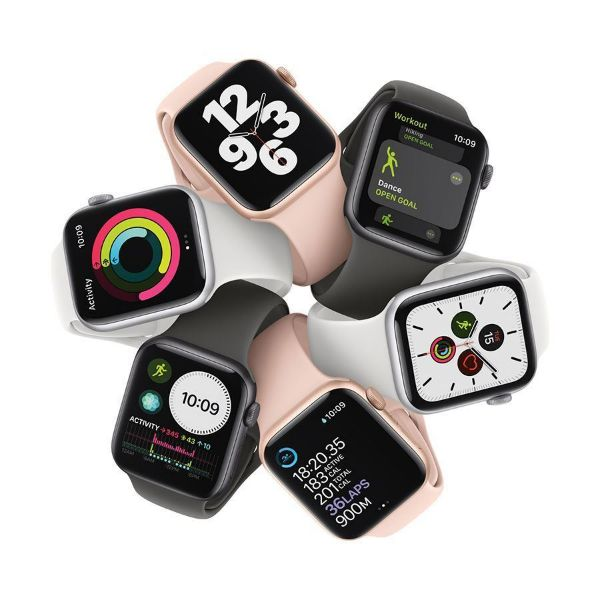 Picture of 44mm Apple Watch SE GPS,  Aluminium Case with Sport Band - Regular