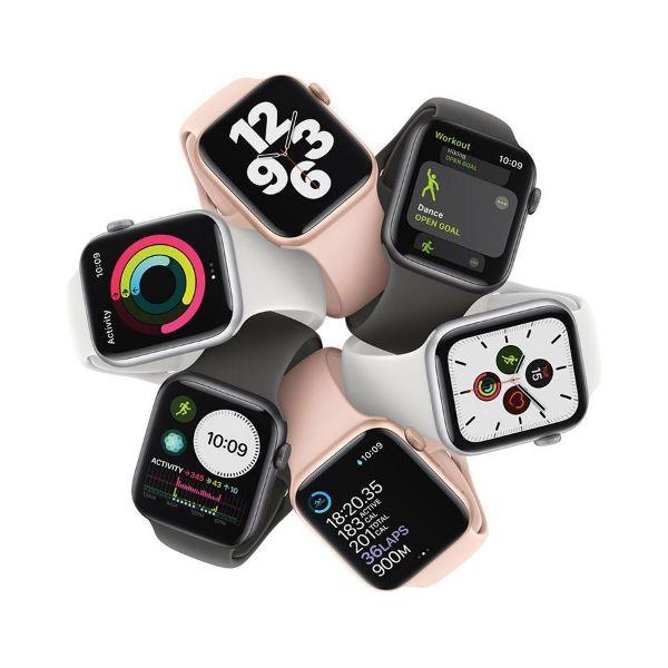 תמונה של 40mm Apple Watch SE GPS,  Aluminium Case with Sport Band - Regular