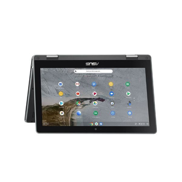 Picture of ASUS/C214MA-N4020/11.6-TOUCH FLIP /4GB DDR4/32G EMMC/ 3CELL 50WH/1YR OS/GREY(Stylus)
