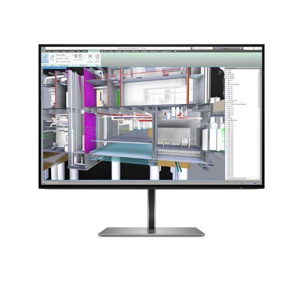 "Picture of HP Monitor Z24u G3 24"" IPS 16:10 WUXGA 1920X1200 VESA PIVOT DP/HDMI USB-C 5YW"