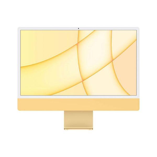 "Picture of Apple 24"" iMac Retina 4.5K, M1 chip 8C CPU 8C GPU, 16GB, 512GB SSD, Magic with Num, Yellow"