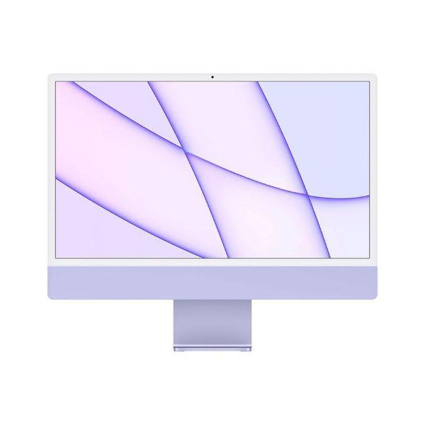"Picture of Apple 24"" iMac Retina 4.5K, M1 chip 8C CPU 8C GPU, 16GB, 256GB SSD, Purple"