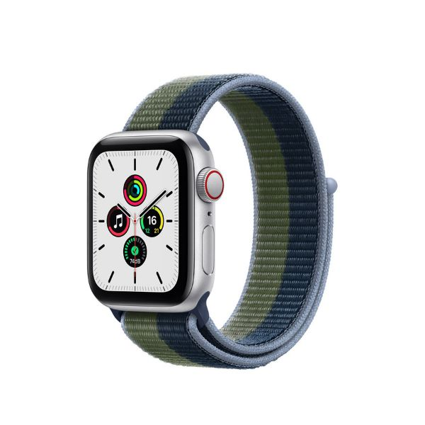 Picture of 40mm Apple Watch SE GPS + Cellular, Aluminium Case with Sport Loop