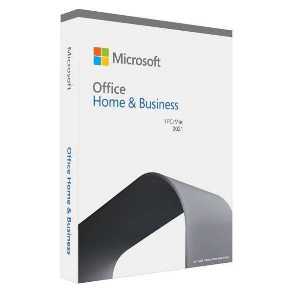 Picture of Office Home and Business 2021 Hebrew MidEast Medialess